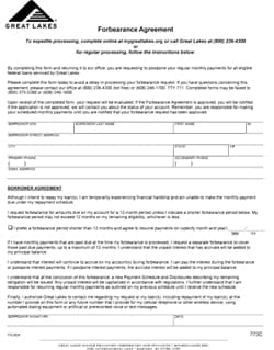 How To Request A Forbearance with Great Lakes - US Student Loan Center