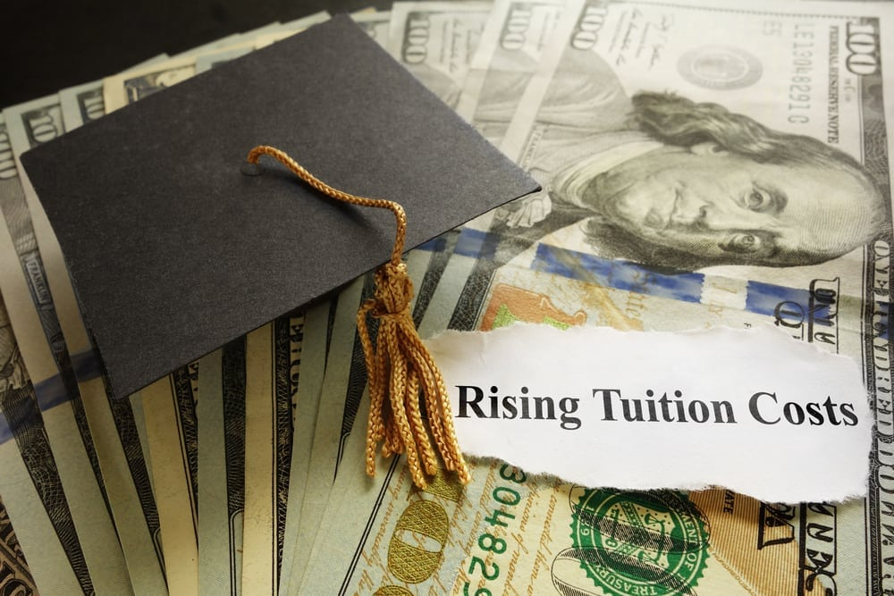 the rising cost of college tuition in america and the advantages of federal loans Recognizing the rising cost of earning a degree, the federal government began guaranteeing student loans through a network of banks and private lenders in 1965 the original federal family education loan program (ffel) was meant to offer assistance to those who could not pay for college expenses out of pocket through affordable loans.