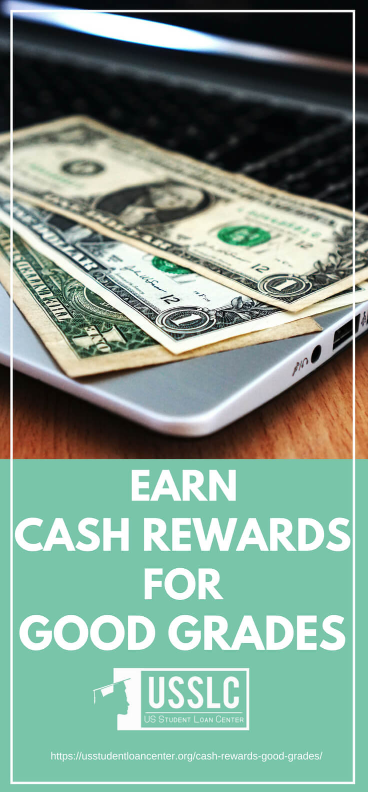 PLACARD | Earn Cash Rewards for Good Grades