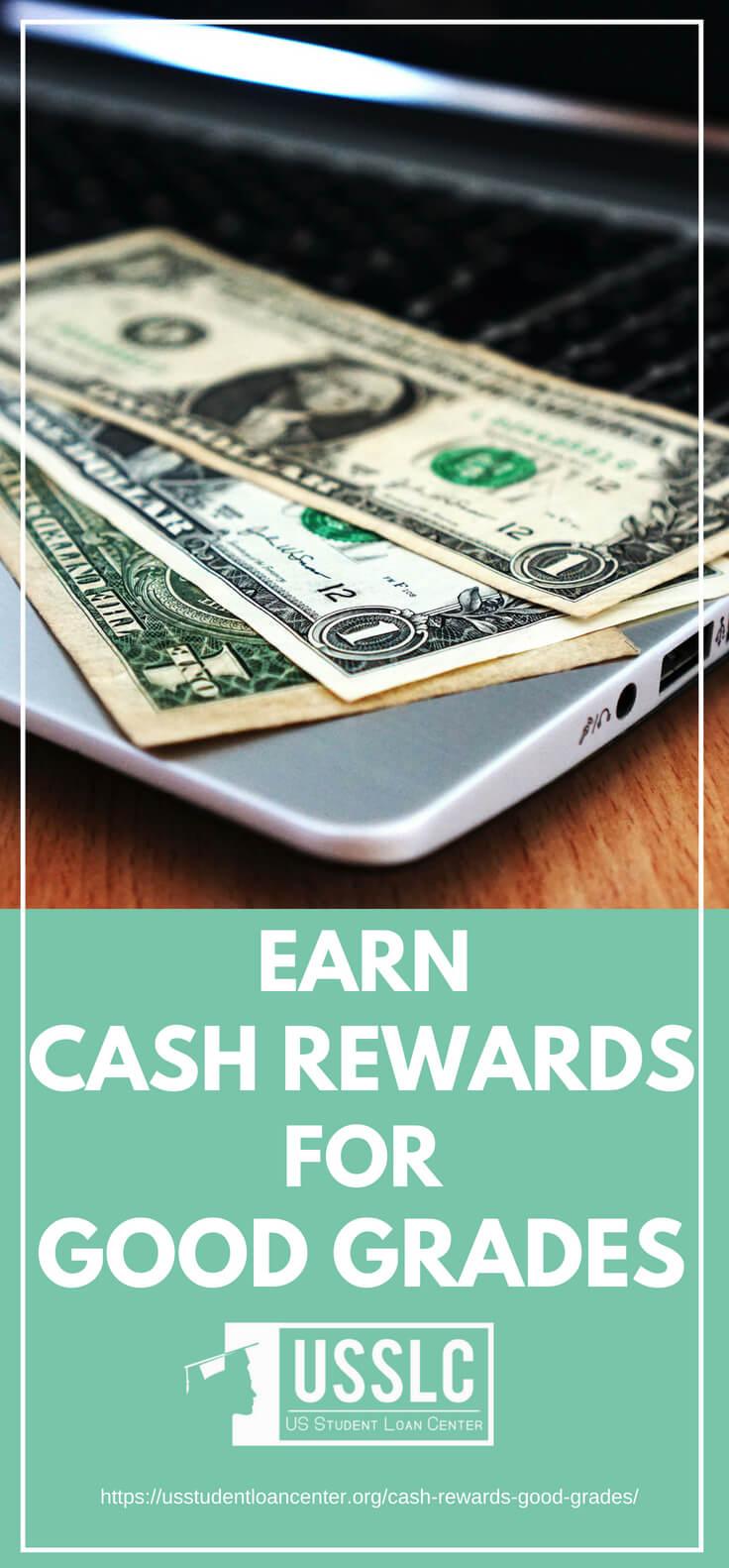 PLACARD | Earn Cash Rewards for Good Grades