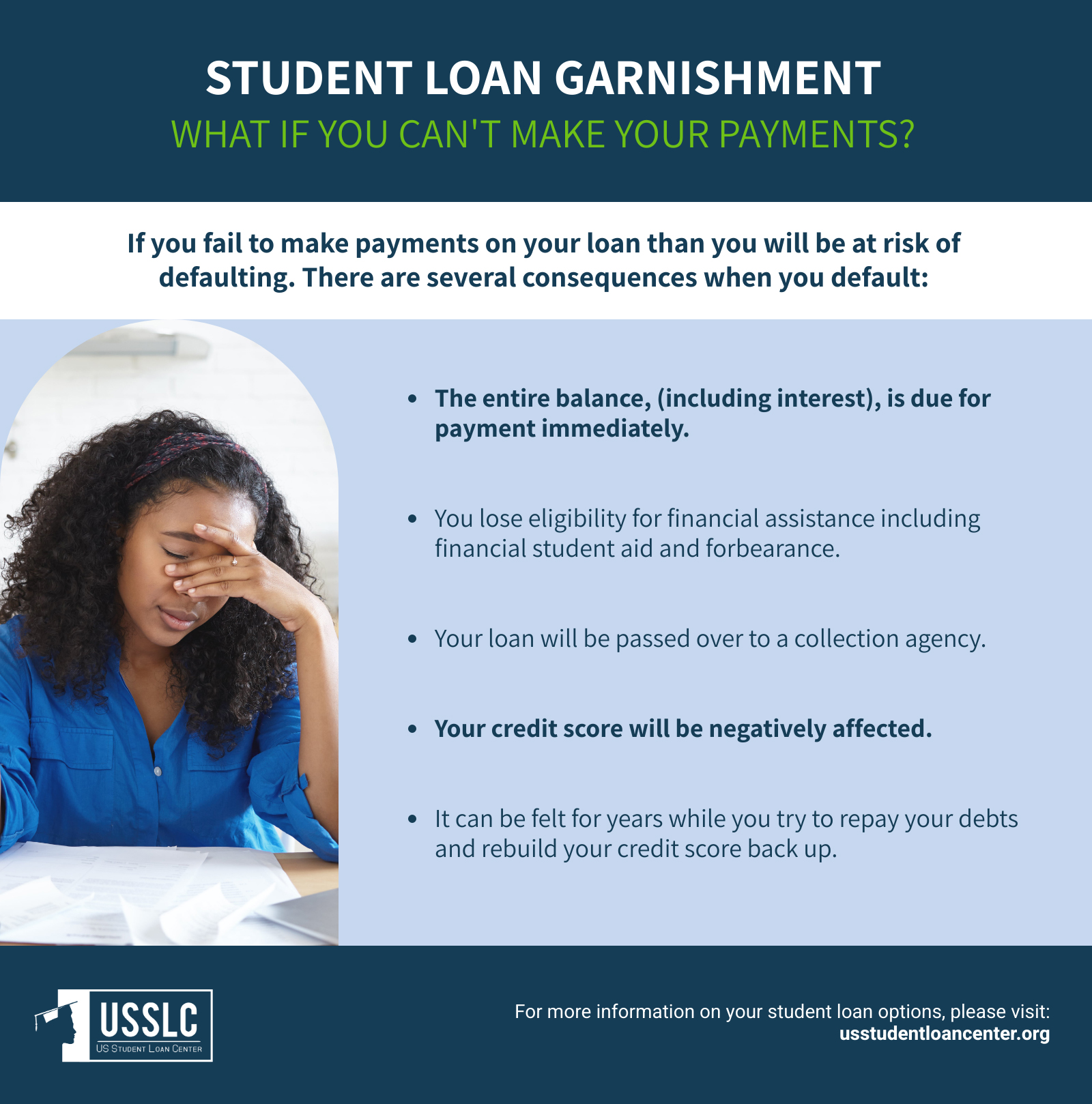 what happens if you default on student loans consequences of defaulting